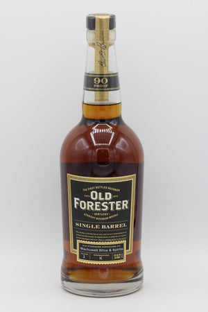 OLD FORESTER SINGLE BARREL 90 PROOF 750 ML