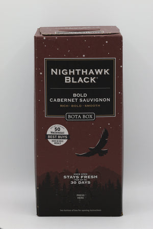 BOTA BOX NIGHTHAWK BLACK CAB SAUV 3L