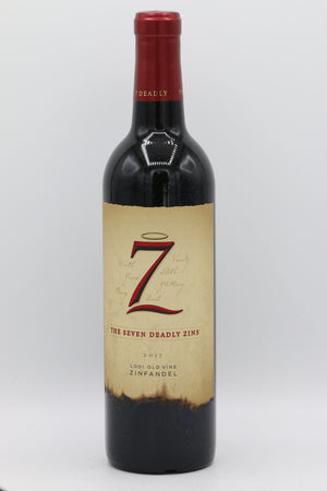 7 DEADLY ZINS ZINFANDEL 750ML
