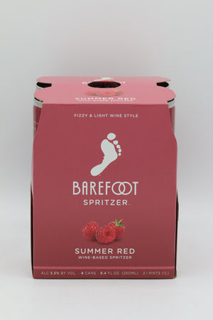 Barefoot Refresh Summer Red Spritzer 4pk