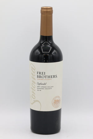 FREI BROTHERS DRY CREEK ZIN 750ML