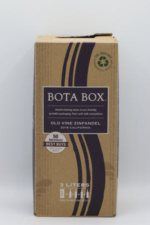 BOTA BOX OLD ZINFANDEL 3L