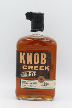 Knob Creek Twice Barreled Rye 750mL