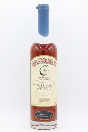 WASMUNDS PORT FINISH SINGLE MALT 750ML