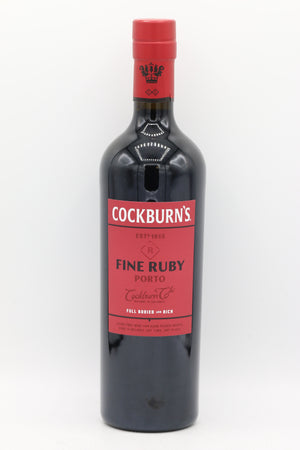 COCKBURNS FINE RUBY PORT 750ML