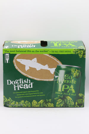 DOGFISH HEAD 60 MIN 12PK CANS