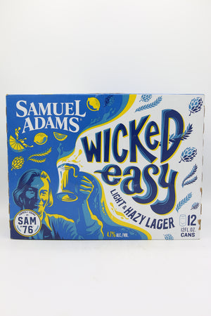 Sam Adams Wicked Easy 12pk Cans