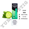 Puff Bar Cucumber Disposable Device - yummyvape