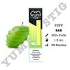 Puff Bar Sour Apple Disposable Device - yummyvape