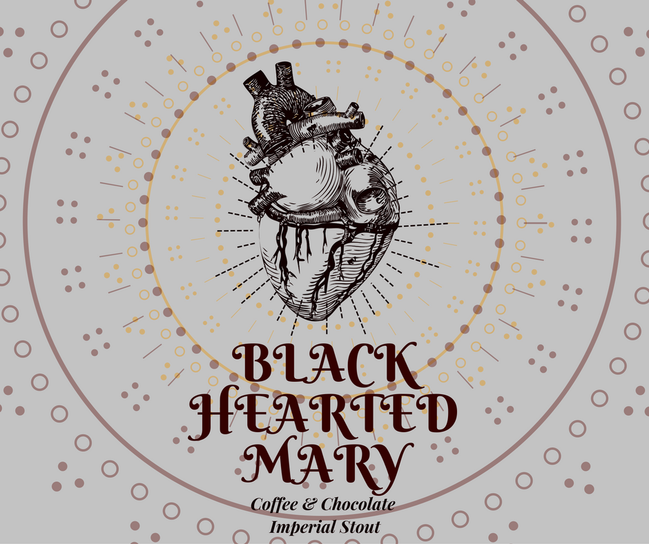 BLACK HEARTED MARY - Imperial Stout - 500ml
