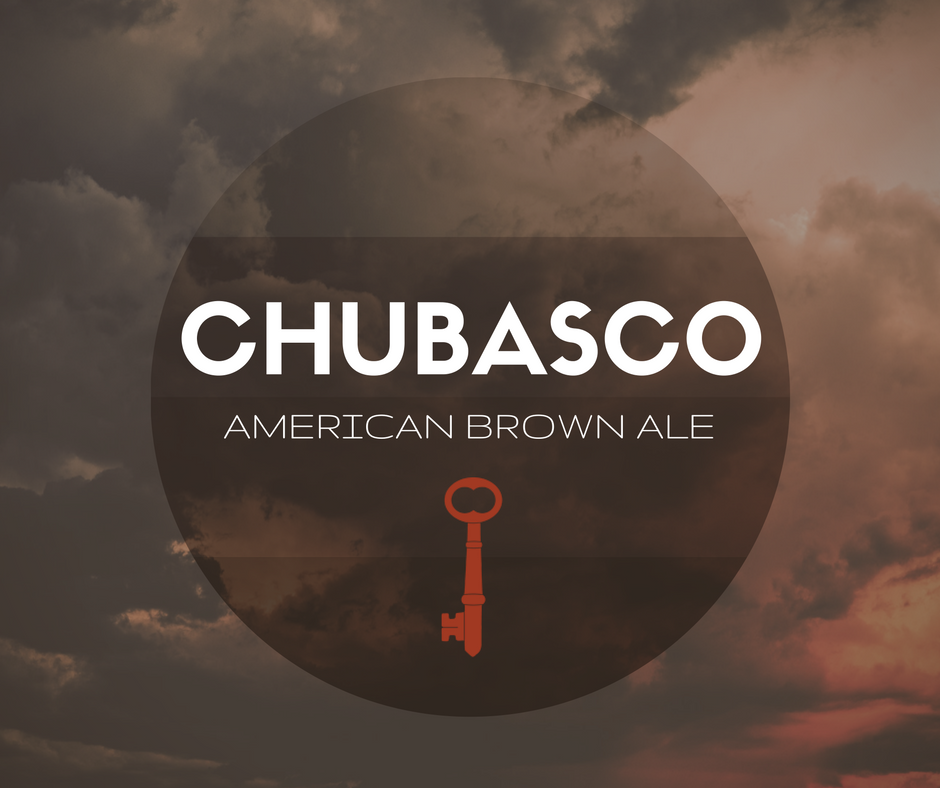 CHUBASCO - American Brown Ale - 500ml