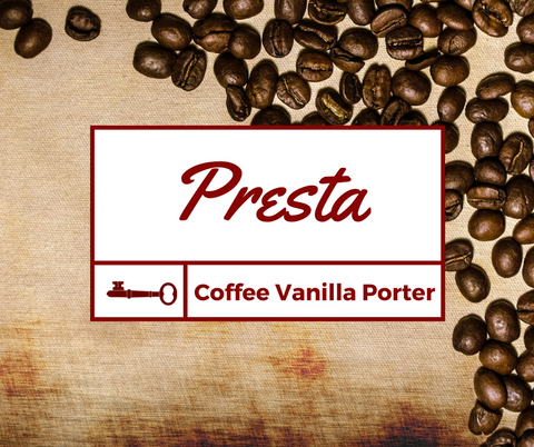 PRESTA - Coffee Vanilla Porter - 500ml