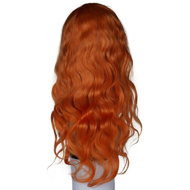 Neon Orange Front Lace Wig - CEO - Crown Envy Obsession, best crown hair extension
