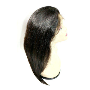 Morticia Straight Front Lace Wig