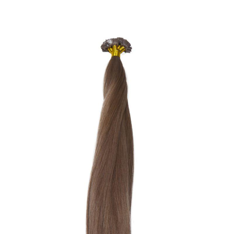 Chestnut Brown Flat-Tip - CEO - Crown Envy Obsession, best crown hair extension