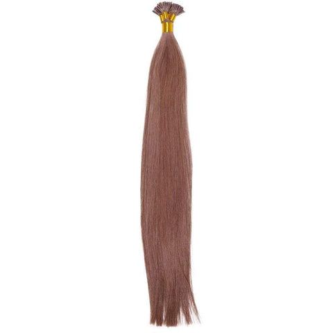 Chestnut Brown I-Tip - CEO - Crown Envy Obsession, best crown hair extension