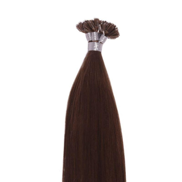 Chestnut Brown U-Tip - CEO - Crown Envy Obsession, best crown hair extension