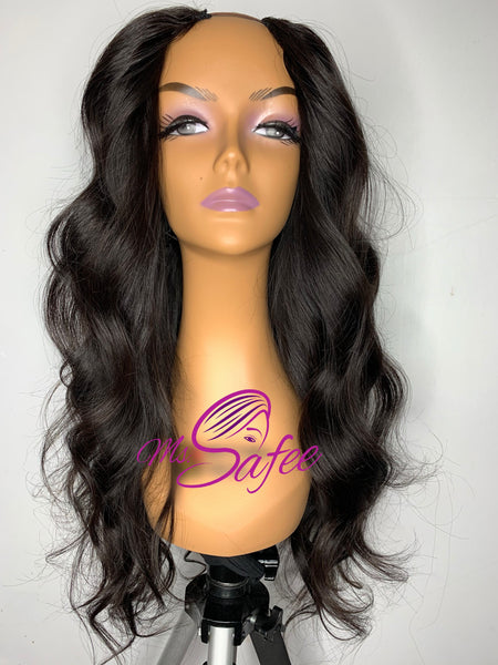 Body Wave U Part Wig
