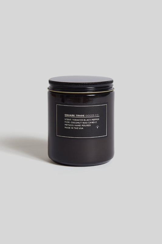 Tobacco Black Pepper - 8 oz. Candle