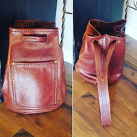 Vintage - Burnished Hand Crafted Leather Bag