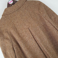 Bill Blass - Vintage Wool Tweed Maxi Coat