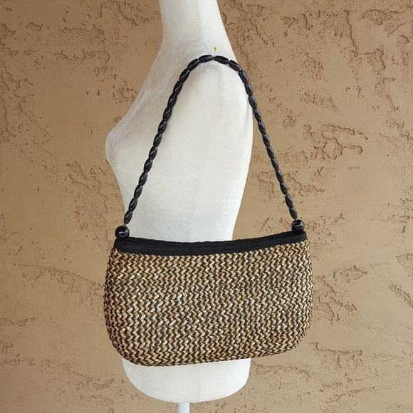 Vintage - Wheat Straw Woven Bag