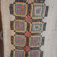 Vintage - Genuine Afghan Embroidered Vest
