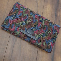 Vintage - Lennox Bags Embroided Clutch