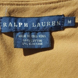 Ralph Lauren - 1990's Camel Wrap Dress