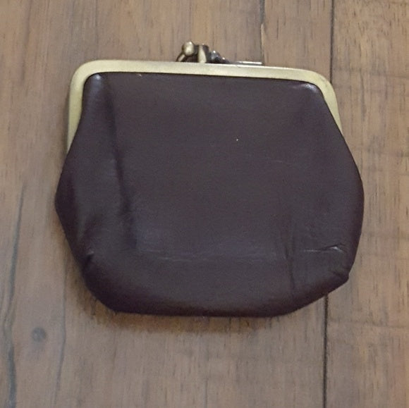 Vintage - Boulder Ridge Brown Leather Coin Purse