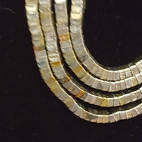 Vintage - 1970's Mixed Metal Necklace & Earring Set