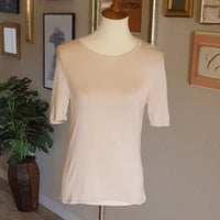 Randolph Duke  - Vintage Cream Silk Top