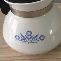Vintage -1970's  Corningware Cornflower Coffee Pot