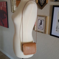 Vintage - Leather Tooled Pouch Mini Bag