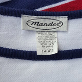 Mandee  - Vintage Cropped America Sweater