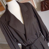 Vintage - Cosi Collection Monogram Trench Coat