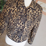 Vintage - Maggy London Silk Quilted Jacket