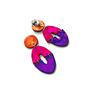 Clip On Earrings - Sassy Sacha Jewelry