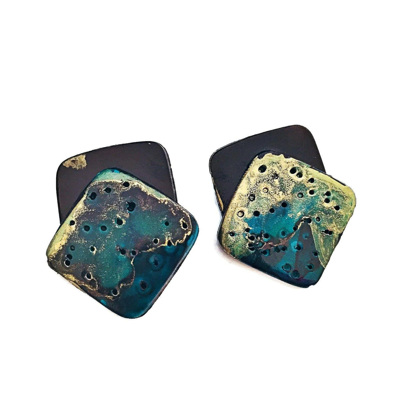 Statement Stud Earrings - Sassy Sacha Jewelry