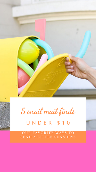 Send Some Snail Mail for Under $10!