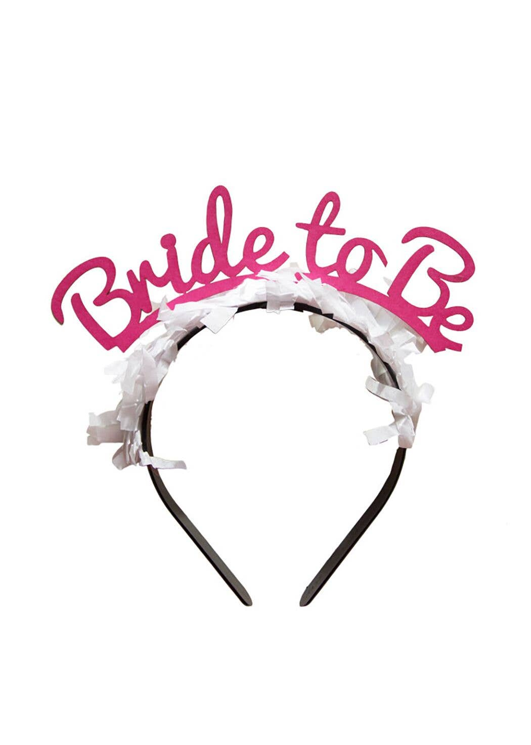 Party Up Top Headband - Bride To Be