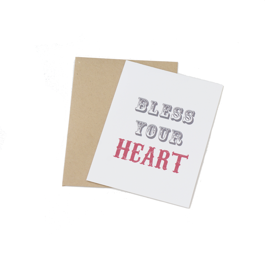 Bless Your Heart Card