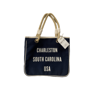 Charleston Tote Navy