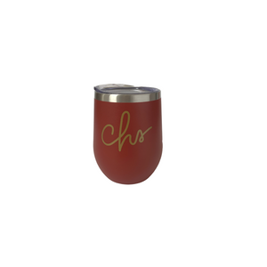 Charleston Wine Tumbler Red