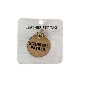 Pet Tag - Squirrel Patrol