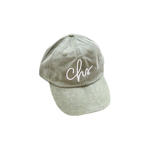 Charleston Script Hat Sage Green