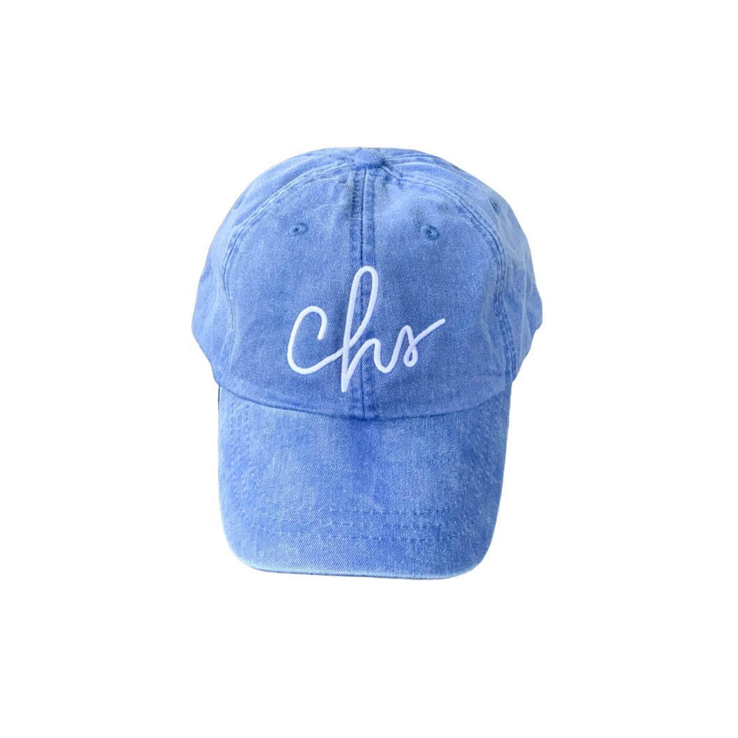 Charleston Script Hat Royal