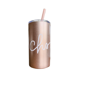 Charleston Script Skinny Mini Rose Gold