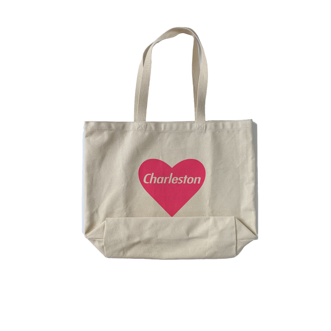 Charleston Heart Tote