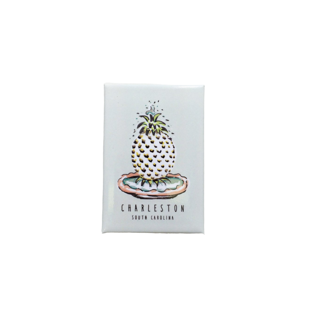 Pineapple Fountain Magnet